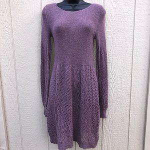 Anthro Knitted & Knotted | Alpaca dress size Large